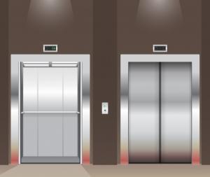 porte d'ascenseurs