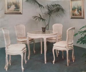 Table Salle à Manger  avec 4  Chaises