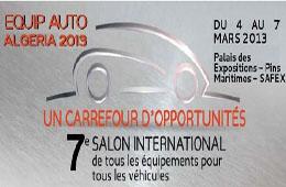 EQUIP AUTO ALGERIA 2013
