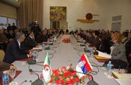 Partenariat algéro-serbe