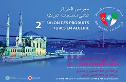 2e salon des produits turcs à Alger Algérie