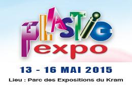 Plastic Expo, du 13 au 16 Mai 2015 au Parc des Expositions du Kram