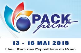 Pack Print Tunisia du 13 au 16 Mai 2015 au Parc des Expositions du Kram