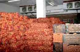 Stockage de pomme de terre