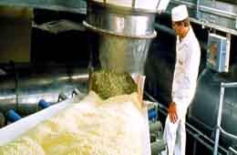 Importation de la poudre de lait