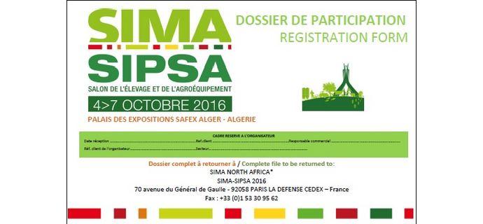 Sima-Sipsa Algérie 2016