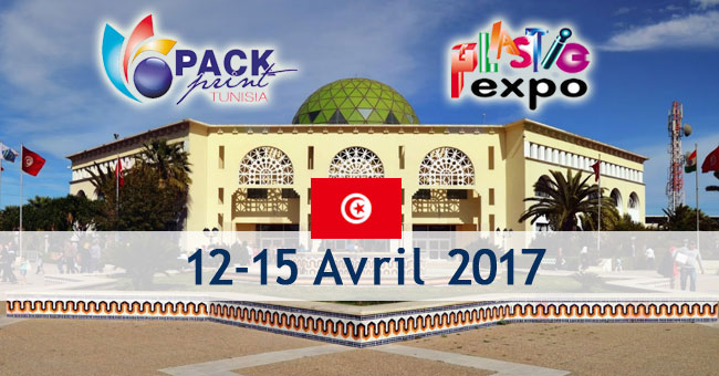 Salons Internationals Plastic Expo et Pack Expo en Tunisie