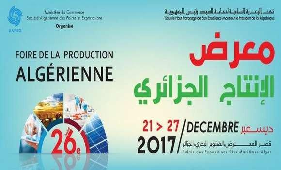 Foire de la production Algérienne à la Safex
