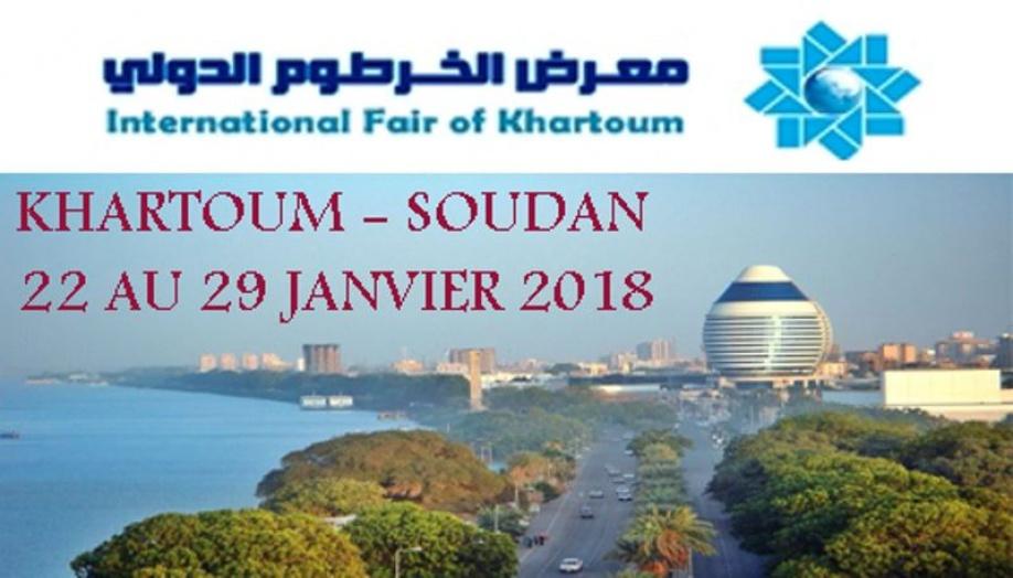 La 34ème édition de la Foire internationale de khartoum (soudan)