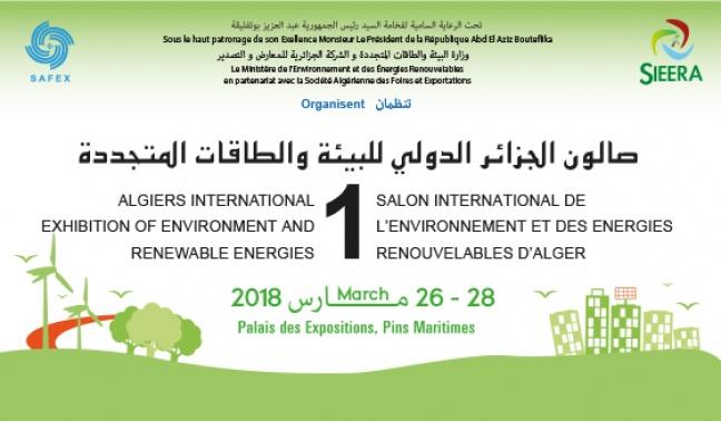1ER SALON INTERNATIONAL DE L'ENVIRONNEMENT ET DES ENERGIES RENOUVELABLES D'ALGER