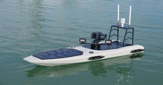 Un drone aquatique pour le suivi de l'envasement des barrages
