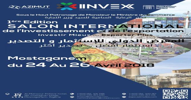 International Investment &amp Export Exhibition iinvex