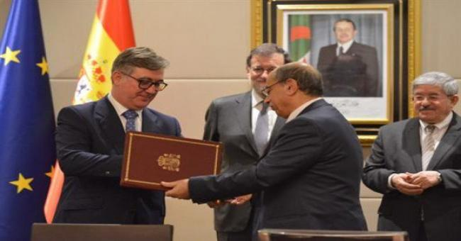 Signature de multiples accords et m&eacutemorandums entre l'Alg&eacuterie et l'Espagne