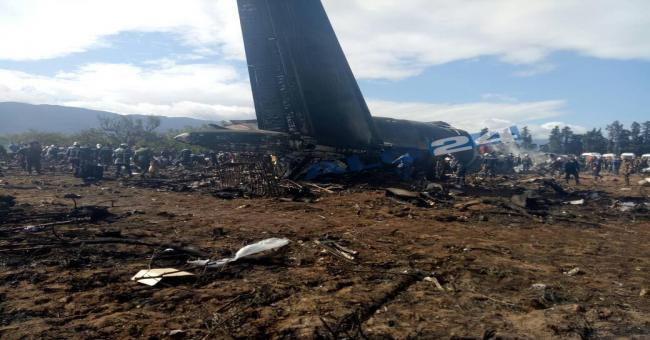 Crash d'un avion militaire &agrave Boufarik Plus de 181 victimes selon la protection civile