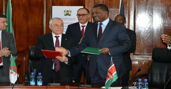Nairobi: Bouhadja copr&eacuteside la c&eacuter&eacutemonie d'installation d'un groupe d'amiti&eacute Alg&eacuterie-Kenya