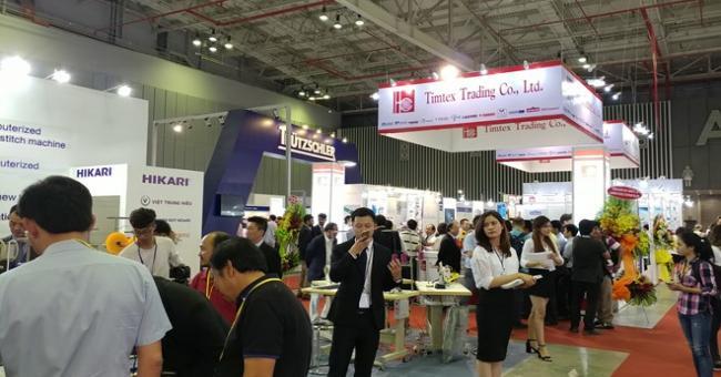 la Foire internationale du Textile Asie 2018