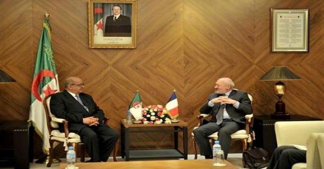 Messahel re&ccediloit l'envoy&eacute sp&eacutecial fran&ccedilais pour la Libye