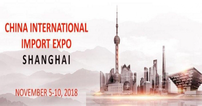 Salon International des Importations de Shanghai (Chine)