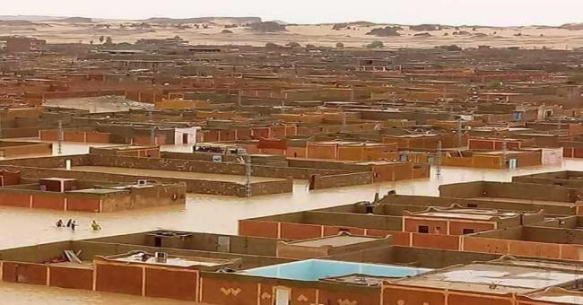 Les sinistrés des dernières intempéries à In Guezzam, pris en charge par l'État