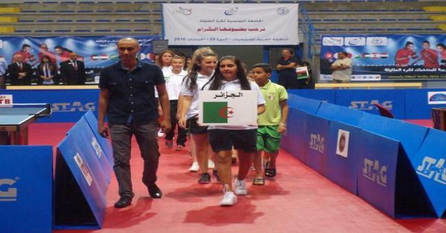 """Championnats arabes de tennis de table : """" l'Algérie a dépassé les objectifs tracés"""""""