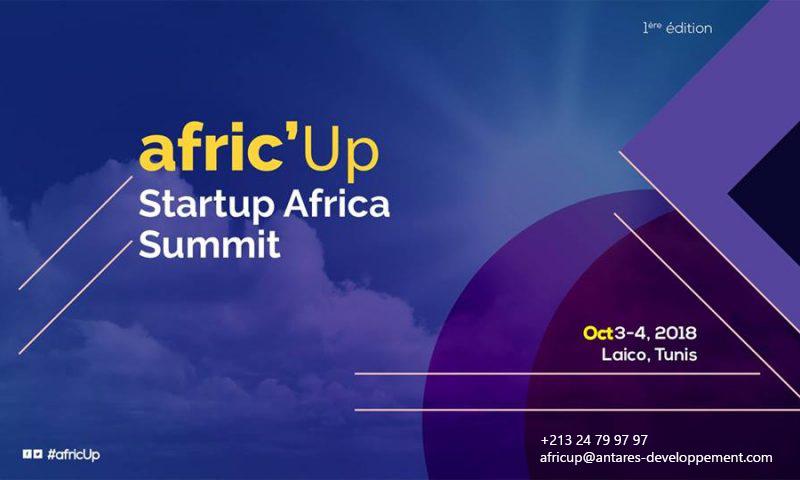 Antares developpement représente officiellement et en exclusivité l'événement Afric'up 2018