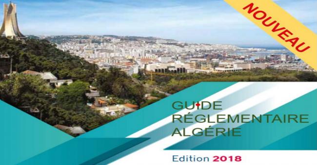 Publication du 1er guide réglementaire Algérie