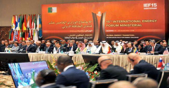 OPEP : les participants à la réd'Alger viseront la stabilité du marché