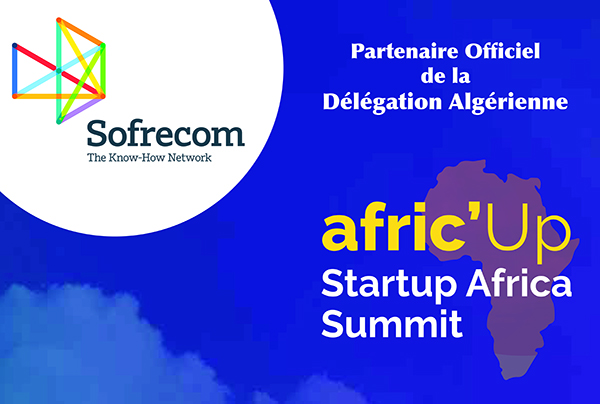 Sofrecom Algérie, Partenaire Officiel  de la délégation Algérienne à l'événement Afric'up 2018