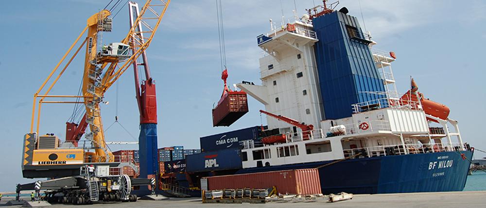 Port de Djendjen : 500 000 tonnes de ciment exportées en 2018