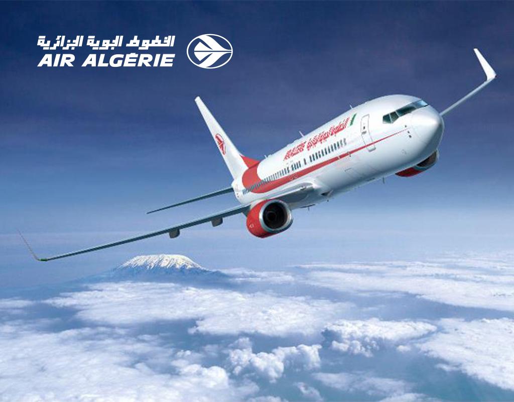 Air Algérie : 55% de réduction sur tous les vols vers l'étranger, du 21 au 26 fevrier