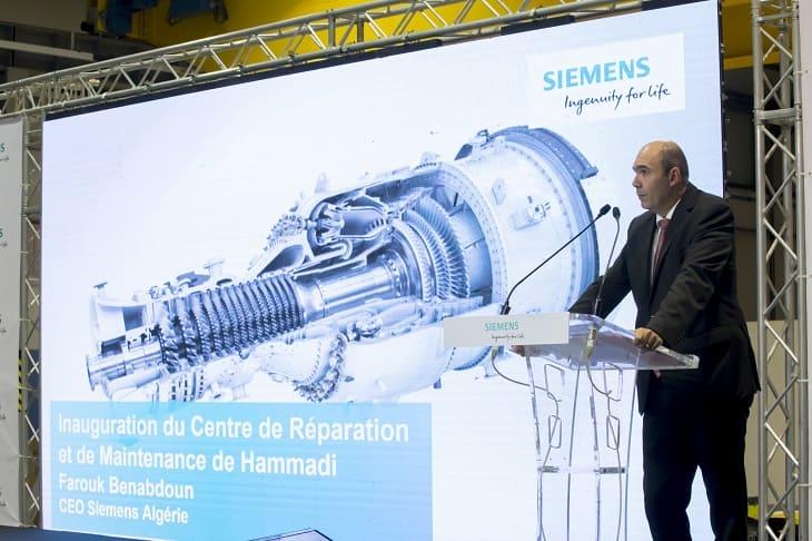 Boumerdès : Siemens installe son premier centre de maintenance de turbines au Maghreb