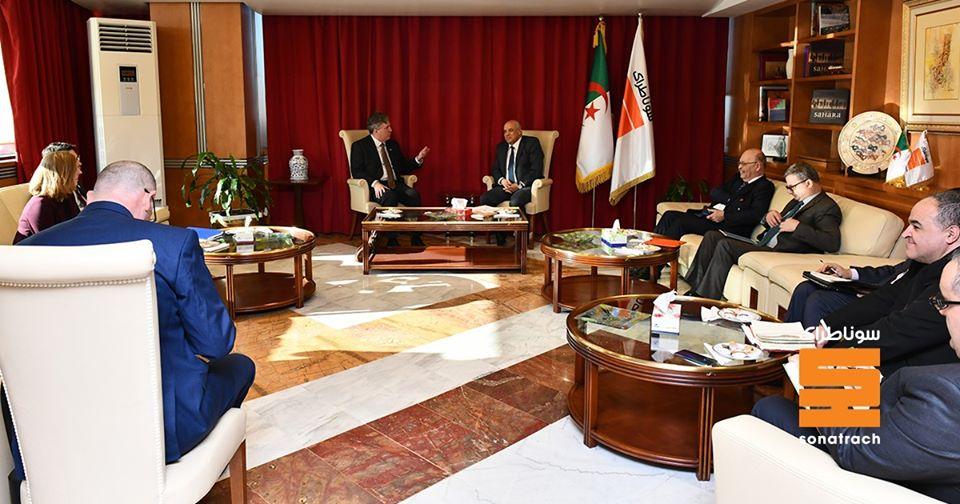 Partenariat entre Sonatrach et le Département américain de l'Energie