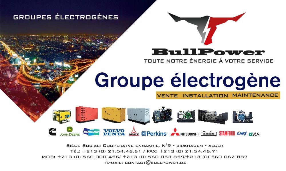 BullPower - groupes électrogène