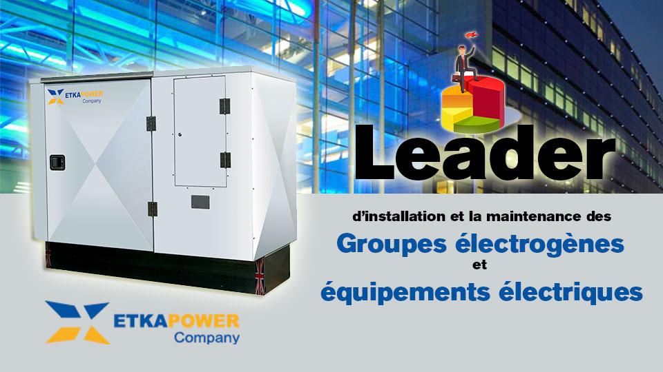 EtkaPower Company  groupes électrogènes