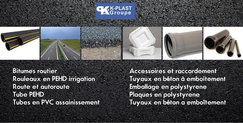 k plast leaders de l'industrie de la chimie en Algérie