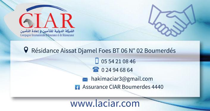 CIAR Compagnie Internationale d'Assurance et de Réassurance
